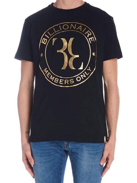 Tshirt Billionare Bdc billionaire billionaire t shirt black 10787528 italist