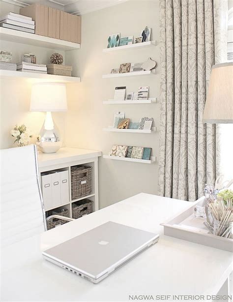 office decor 20 ways to decorate home office in white Home