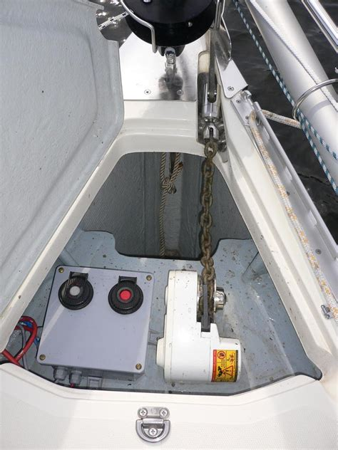 anchor windlass installation myhanse hanse yachts owners forum