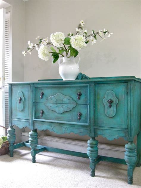 shabby chic turquoise sold hand painted french country cottage chic shabby romantic vintage victorian jacobean aqua