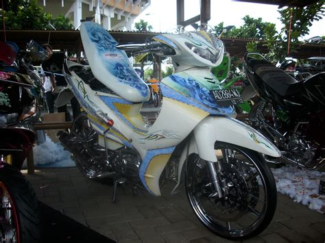 Modifikasi Motor by Gambar Modifikasi Yamaha Jupiter Z