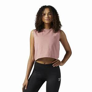 Reebok Classics Crop Tank Top Women's Lifestyle Clothing ...