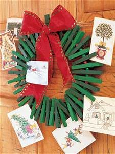 Homemade Christmas Card Holder – Holiday Craft Ideas on