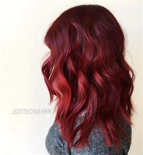 ruby hair color toned hair color ideas for 2018 best hair color