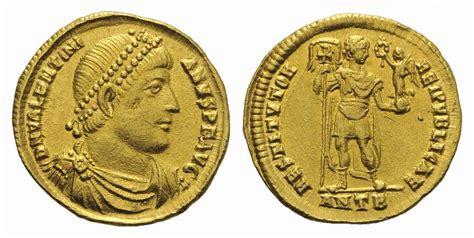 Solidus Ma by Solidus Antiochia R 214 Mische Kaiserzeit Valentinian I 364