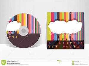 cd cover design template stock vector illustration of With cd cover design template free download