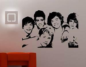 One direction stunning wall art sticker vinyl kitchen