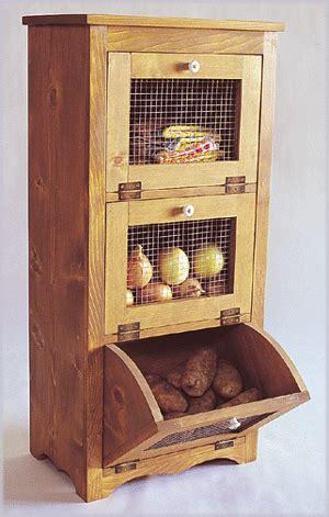 storage bin  potatoes apples  onions order plan