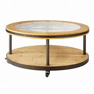 Table Basse Ronde Maison Du Monde : table basse ronde horloge maisons du monde ~ Teatrodelosmanantiales.com Idées de Décoration
