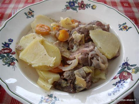 cuisine alsacienne baeckeoffe baeckeoffe recettes d 39 alsace