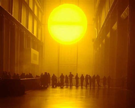 Olafur Eliasson Sun by Olafur Eliasson Arts At Mit