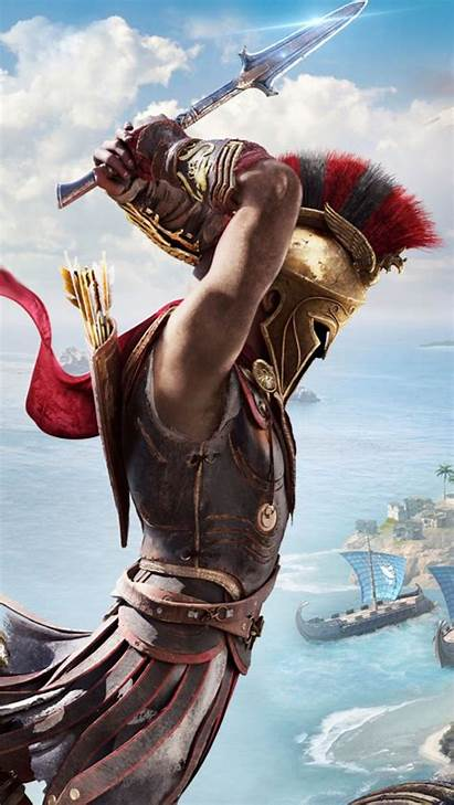 Creed Odyssey Wallpapers Mobile 4k Assassin Resolution