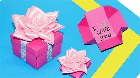 diy gift box gift box making ideas    easy box