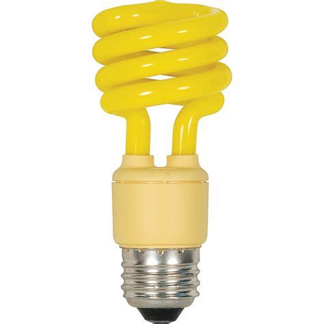 coil light bulbs spiral cfl bug light bulb