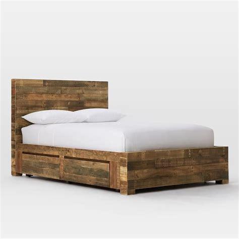 west elm flat bar storage desk emmerson reclaimed wood storage bed natural west elm