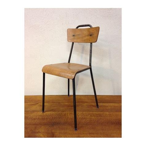 chaise écolier chaise d 39 écolier vintage le retrocanteur