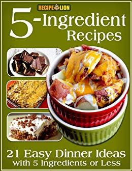 amazoncom  ingredient recipes  easy dinner ideas