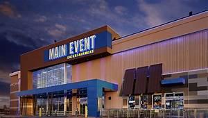 Lighting Gantry Main Event Entertainment Chris Woods Construction