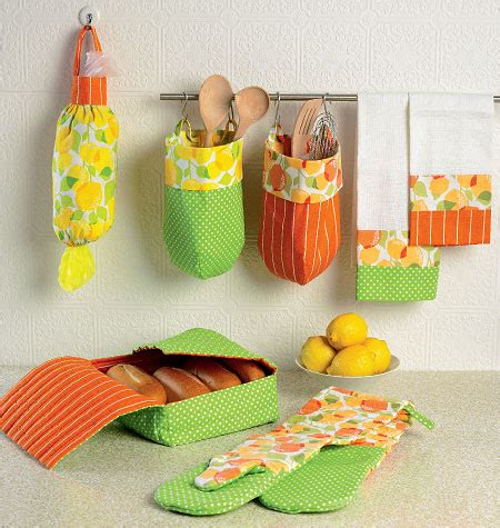 sewing kitchen accessories mccall s 6978 apron and kitchen accessories 2164
