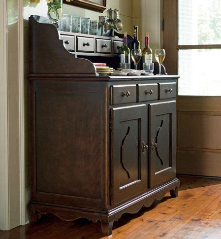 country kitchen buffet 1250 44 quot tobacco finish sideboard and hutch grand home 3619