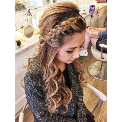 Hairstyles With Braids And Curls by Braid With Curls Sharireyes Hairbyshari Hair