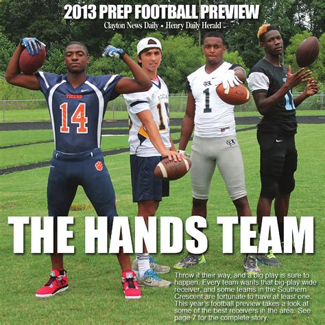 The 2013 Prep Football for Henry Daily Herald & Clayton  print