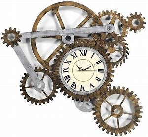 Steampunk wall clock for Steampunk wall clocks for sale