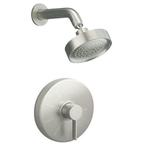 kohler stillness lav faucet kohler stillness shower faucet trim in vibrant brushed
