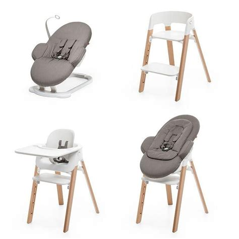 chaise stokke steps stokke steps modular seating system grows with baby