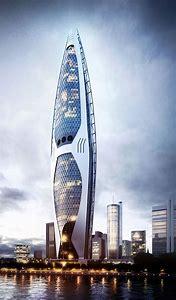 Architecture Futuristic Skyscraper