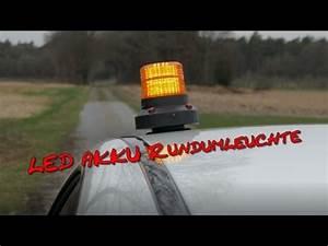 Led Schrankbeleuchtung Akku : akku led rundumleuchte 4k youtube ~ Markanthonyermac.com Haus und Dekorationen