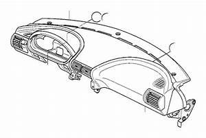Bmw Alpina B7x Trim Panel Dashboard  Leather  Dolomiti