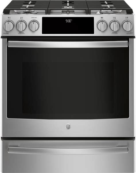 ge pgsselss   smart   gas range  wifi connect true convection integrated