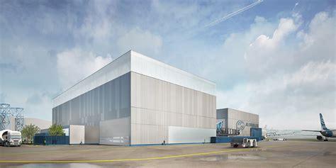plateau de bureau projet ilf construction du bâtiment de déchargement