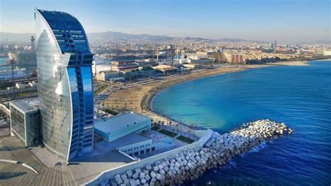 strandhotels  barcelona staedtereise und meer  einem