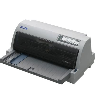 Designed with the dot matrix user in mind, our latest model has an impressive print speed of up to 529 cps. 點陣印表機-Epson LQ-690C