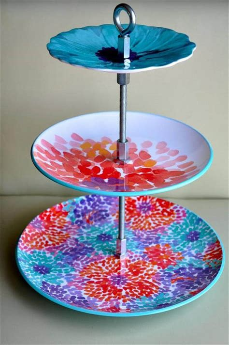 amazing diy cool cake stand ideas diy