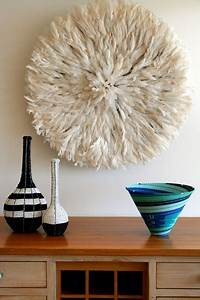 bamileke feather headdress white juju hat eclectic With kitchen colors with white cabinets with african juju hat wall art