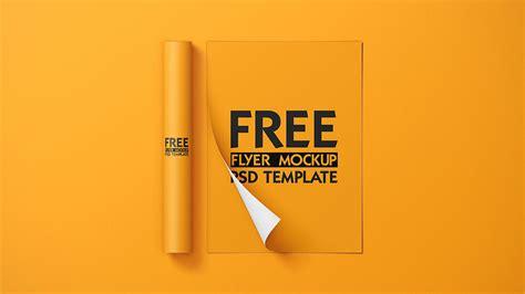 Free Flyers Mockup | Mockuptree