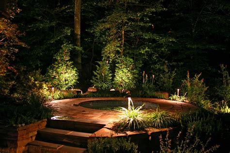 pool  jacuzzi steps propery lit  outdoor lighting