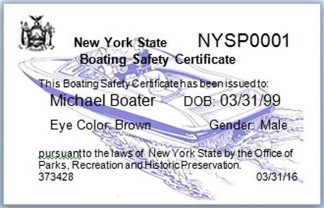 Boating License Ny by Boating Education Nys Parks Recreation Historic