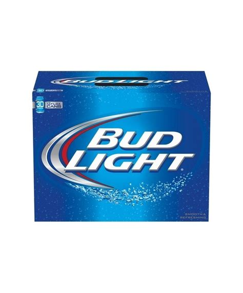 bud light 30 pack price bud light 12oz 30 pack cans