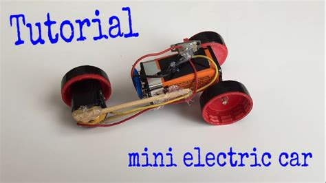 Make Electric Car by How To Make A Car Mini Electric Car Tutorial