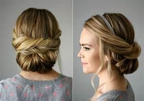 Hochsteckfrisuren Lange Glatte Haare by Lockere Hochsteckfrisuren Für Jeden Anlass Ideen Anleitungen