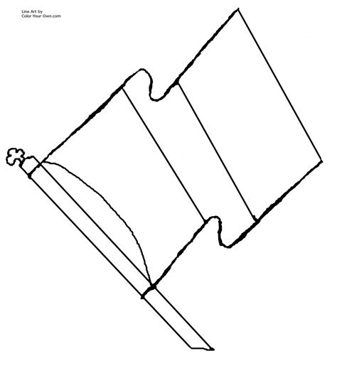 Coloring Flag by Flag Coloring Pages To And Print For Free