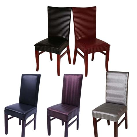 Leather Chair Covers For Sale by Home Chair Cover Wedding Decoration Stretch Pu Leather