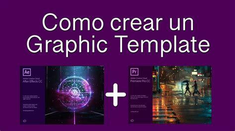 Como Crear Template En by Como Crear Motion Graphics Templates En After Effects Y