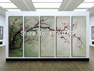 online buy wholesale japanese canvas art from china With best brand of paint for kitchen cabinets with cherry blossom canvas wall art
