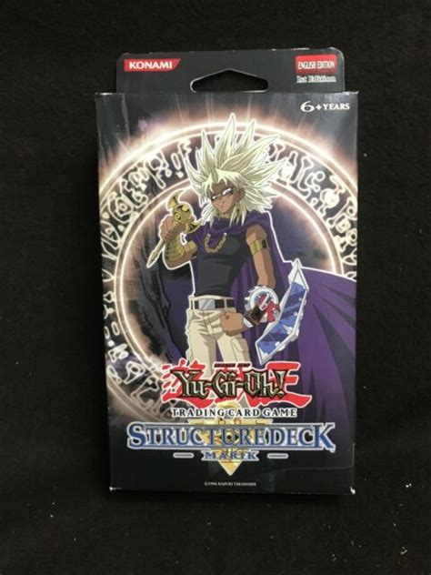 yu marik gi deck oh structure edition sealed factory 1st