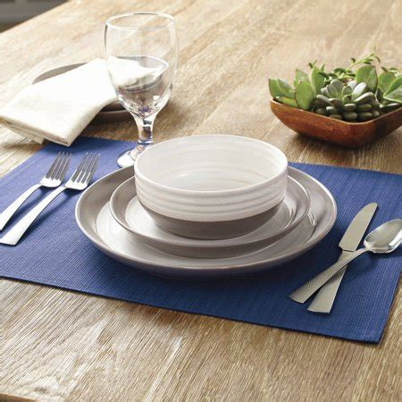 Better Homes And Garden Dishes by Better Homes Gardens Ashmoor Dinnerware Set 12